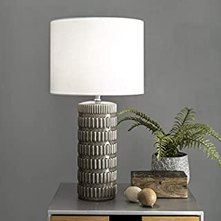 """nuLOOM Home NPT43BA Morrissey Table Lamp, 25"""" Height, Gray"""