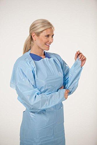 ICP Medical LLC Polyethylene Gown Blue Universal