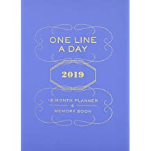 2019 Planner & Memory Book: One Line a Day