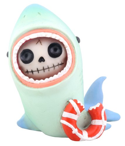 Furry Bones Sharkie Shark Statue
