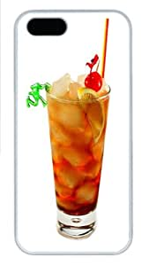 Summer Beach Drink Cocktail with Fruits Hard Back Iphone Cover Case Fits iphone 4 4S(30)