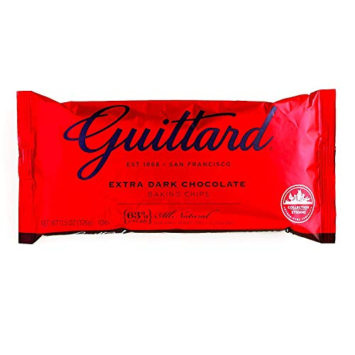 Guittard Extra Dark Chocolate Chips 12 oz each (1 Item Per Order)