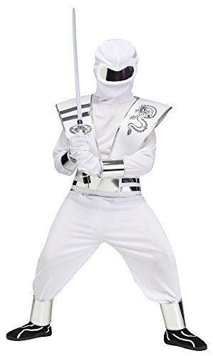 Joven Blanco o Negro Deluxe Espejo Ninja Halloween Disfraz ...