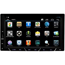 New Headunit Android 4.2 In Dash Car Radio Stereo Audio with GPS Navigation Capactive Touch Screen Blueooth Support 3G Internet WIFI 7 Inch Car Video Player Double 2 Din NO DVD Player