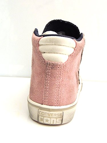 CONVERSE Pro Leather Vulc Mid sneakers PELLE DUST PINK D GREY 38.5