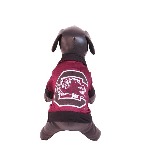 (NCAA South Carolina Fighting Gamecocks Athletic Mesh Dog Jersey (Team Color, XX-Large))