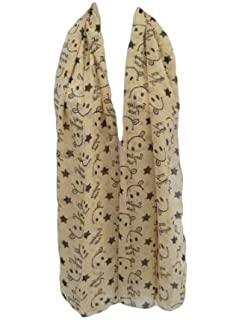 SPOTTED SCARF 150cm x 60cm UK SELLER FREE P/&P CHIFFON LADIES LACE /& POLKA DOTS