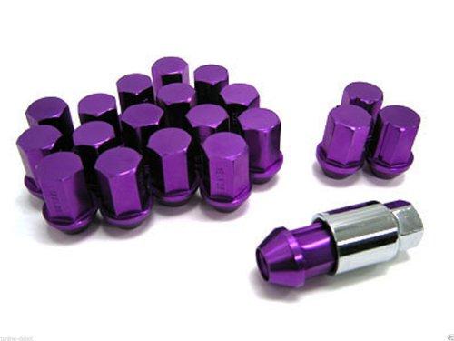 Nippon Purple Aluminum Wheel Lug Nut 12 X 1.5 fit for Mitsubishi Evo GST GSX DC2 (Nippon Nut)