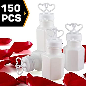 Two Hearts Bubble Bottles 24 Pack