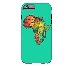 Africa II iPhone 6 Plus Caribbean green Tough Phone Case - Design By FSKcase?
