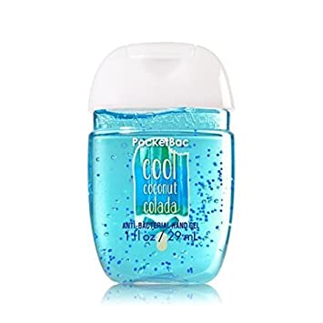 Bath Body Works Pocketbac Hand Sanitizer Gel Cool Coconut Colada