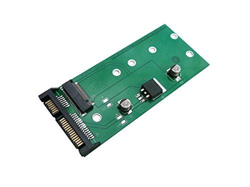 Kalea Informatique Adapter, Adapter M2 (NGFF) auf SATA 3 - für SSD Typ M.2 (Intel / Sandisk / Micron / Toshiba / Samsung etc.) - Kompakt-Version