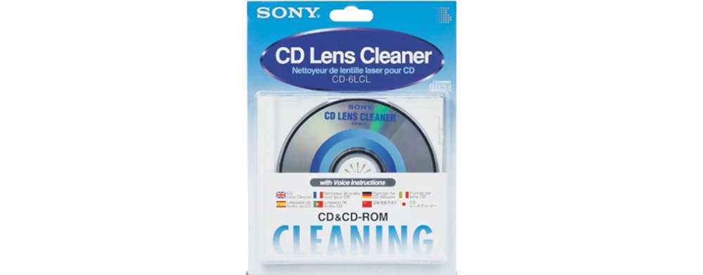 Sony CD6LCL CD Lens Cleaner by Sony