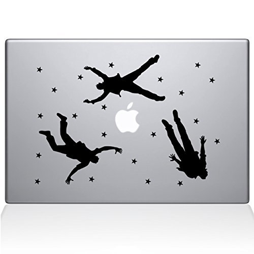 最新作の The & Decal Guru Falling Men MacBook Decal Vinyl (2016 newer) Sticker - 13 Macbook Pro (2016 & newer) - Black (1060-MAC-13X-BLA) [並行輸入品] B0788JSJ7B, いつも元気なきもの屋さん:582d74e5 --- a0267596.xsph.ru