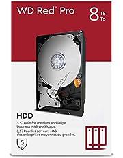 """WD Red Pro 8TB NAS 3,5"""" interne harde schijf - 7200RPM-klasse, SATA 6Gb/s, CMR, 256MBCache"""