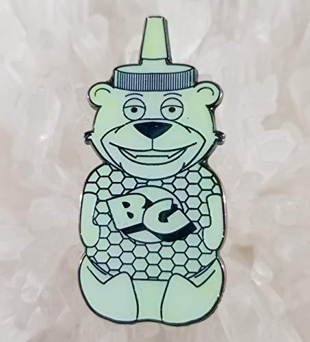 Bear Grillz Edm Dubstep Honey Bear Green Anodized Metal 2