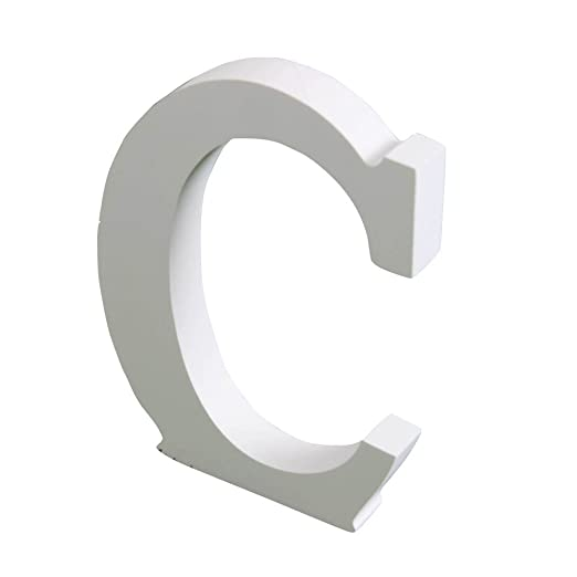 Homedeco 26 Letter Thick Wood Wooden Alphabet Wedding Birthday Party Home Decor Classic E