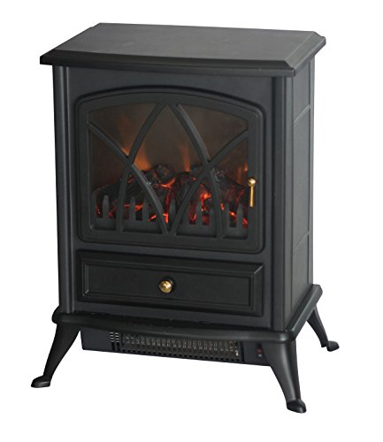 Comfort Glow Ashton Electric Stove Heater Black ES4215
