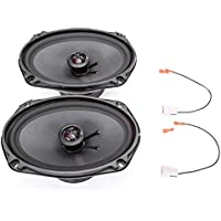 2002-2008 Dodge Ram 1500 6 x 9 Front Door Factory Speaker Upgrade Package by Skar Audio