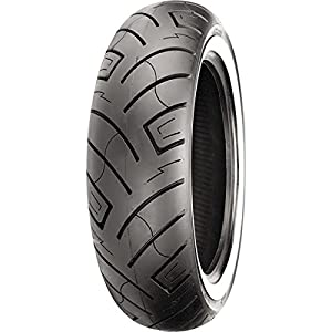 Shinko 777 HD Whitewall Front Motorcycle Tires - 130/90-16 TL 87-4586