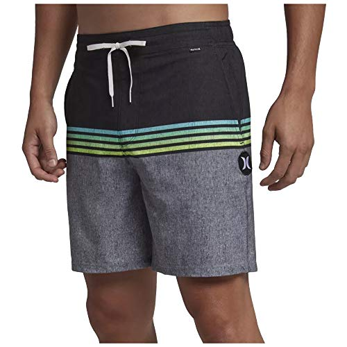 - Hurley Men's Phantom Surfside Volley 17 inch Everyday Beach Boardshorts, Black (010), 36