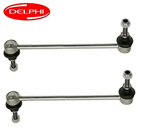E36 Sway Bar (BMW E36 M3 Z3 Front Sway Bar End (Stabilizer) Link Set of 2 DELPHI 31352227203)