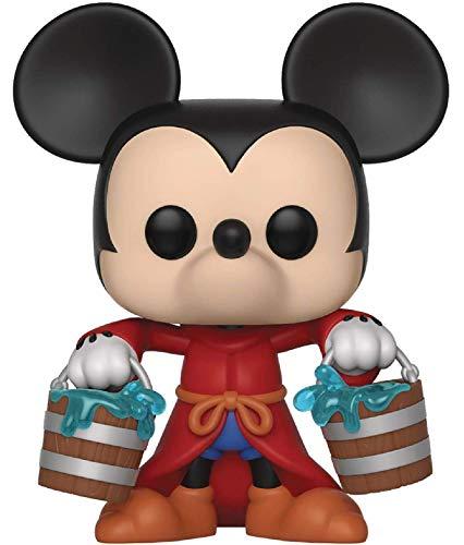 Disney: Mickey's 90th Anniversary - Apprentice Mickey Funko Pop! Vinyl Figure (Includes Compatible Pop Box Protector Case)