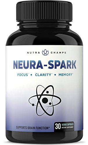 Premium Brain Supplement for Focus, Memory, Energy, Clarity - Nootropic Brain Booster Scientifically Formulated for Optimal Mental Performance - Ginkgo Biloba, St John's Wort, DMAE, Rhodiola & More