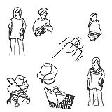 PPOGOO Nursing Cover for Breastfeeding Super Soft