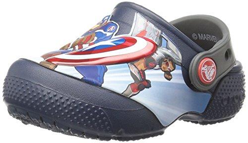 Crocs Boys' FL Avengers Multi K Clog, Navy, 11 M US Little Kid by Crocs