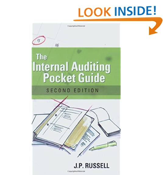 Internal auditing amazon the internal auditing pocket guide preparing performing reporting and follow up second edition fandeluxe Gallery