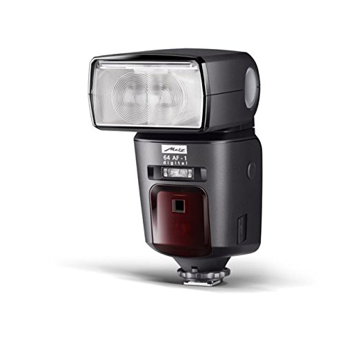 Metz Mecablitz 64 AF-1 Digital Flash for Olympus / Panasonic Cameras, 24 - 200mm Automatic Zoom by Metz