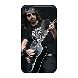 Great Hard Cell-phone Case For Iphone 6 With Allow Personal Design Nice Foo Fighters Pattern AnnaDubois