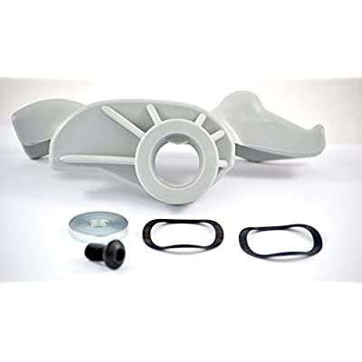 Low Profile Grey Nylon Mount / Demount Head Kit: Automotive