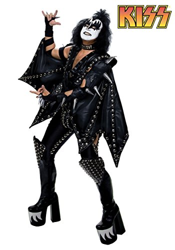 FunCostumes Fun Costumes Plus Size Authentic Gene Simmons Kiss Costume