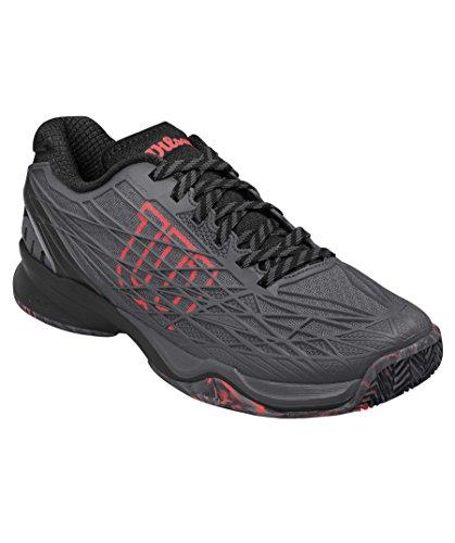 Black Tennis Court Homme Wilson Rush 0 Pro Ebony Gris de Chaussures Coral 2 Clay Fiery C7Bqp8xw7