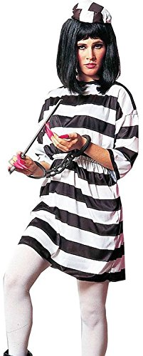 [Forum Novelties Women's Adult Lady Convict Costume, Multi, One Size] (Lady Convict Costumes)