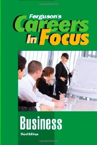 Business, Third Edition (Ferguson's Careers in Focus)