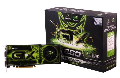 XFX GX260NADF9 GeForce GTX 260 896MB DDR3 576MHz PCI Express 2.0 SLI Ready Video Card - Dual DVI/S-Video