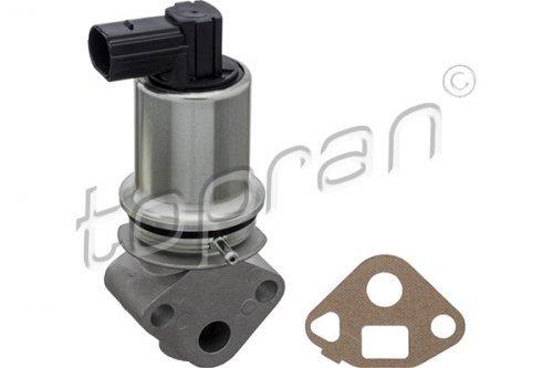 Impeded EGR valve: