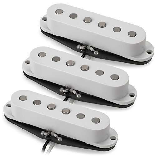 Golden Age Alnico 5 Single-coil Pickups - Set of 3 (Overwound Bridge, Middle, Neck)