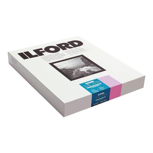 Ilford MGFBCT1K Multigrade FB Cooltone Fiber Based Variable Contrast, Doubleweight Black & White Enlarging Paper 8x10