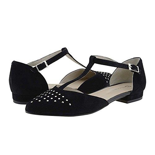 Croisées Daim Noir En Chaussures Paula Alonso Finement wzAXaX