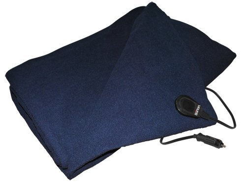 Max Burton 6997 12-Volt Polar Fleece Electric Blanket, 59