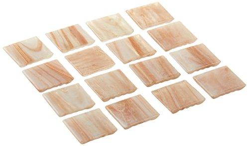 - Mosaic Mercantile Metallic White Weave Glass Tile, 1-Pound
