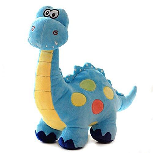 WinTime Kawaii 17 Inch Stuffed Dinosaur Soft Plush Toy Doll ( Blue )