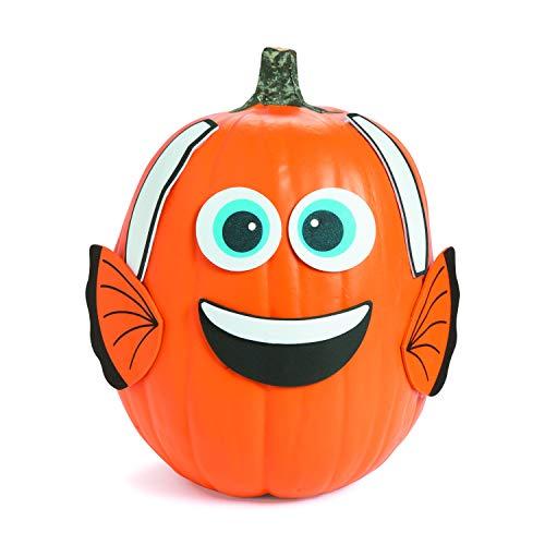 Fun Express Pumpkin Decorating Craft Kit (50 pcs) ()