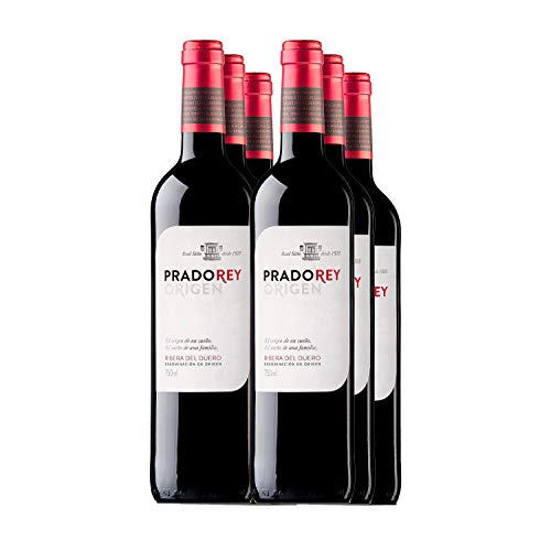 PRADOREY Roble Origen-Vino tinto – Roble- Ribera del Duero – 95% Tempranillo, 3% Cabernet sauvignon, 2% Merlot – Vino…