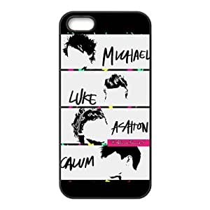 iPhone 5s Case, 5 Second of Summer 5sos Design Custom TPU Case Cover for iPhone 5 iphone 5s
