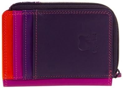 Mywalit Geldbörse, 11 cm, mit Reißverschluss, Leder, mit Kartenfach und 334 Design in Geschenkbox 334-4